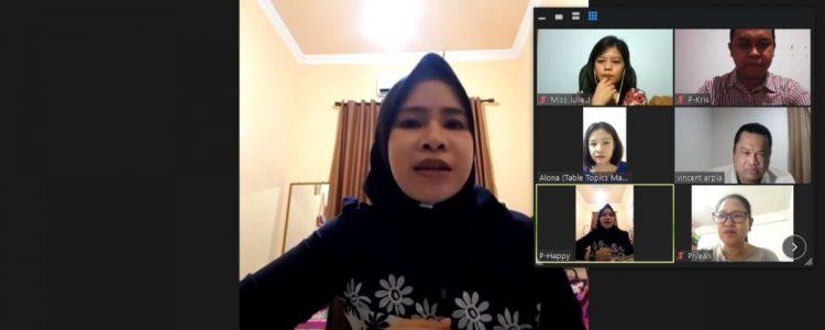 Speechcraft Program Bertaraf Internasional Bersama Dr. Happy Fitria, MPd