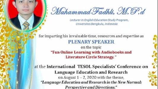 International TESOL Specialists' Conference on Language Education and Research