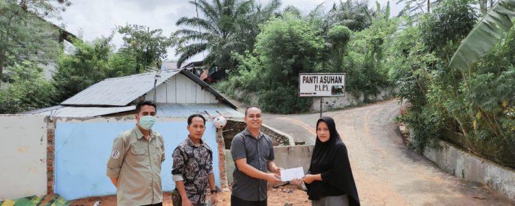 Pemberian Bantuan Ke Panti Asuhan PAPY Bengkulu