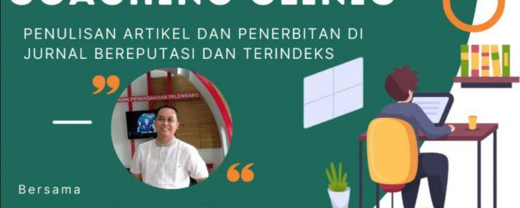 Yayasan Karinosseff Muda Indonesia Mengadakan training : Penulisan Artikel dan Penerbitan di Jurnal Bereputasi dan Terindeks